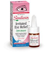 Similasan Irritated Eye Relief, 10 ml