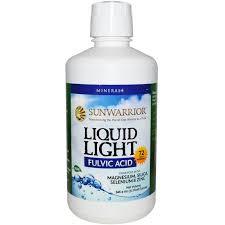 Sun Warrior Liquid Light Fulvic Acid, 32 fl oz