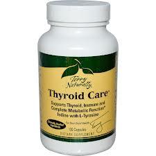 EuroPharma Thyroid Care, 120 Capsules