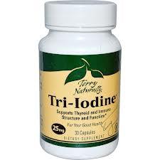 Europharma Tri-Iodine, 25 mg, 30 caps