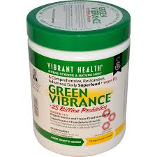 Vibrant Health Green Vibrance Powder, 60 day supply