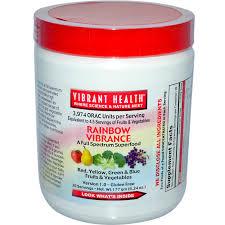 Vibrant Health Rainbow Vibrance Powder, 30 Servings