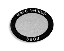 WaveShield Oval Silver For Cordless