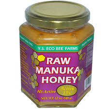 Y.S. Organics Raw Manuka Honey, 12 oz (Active 15)
