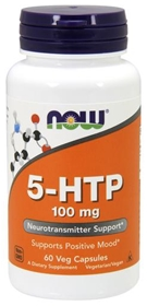 NOW 5-HTP 100 mg, 60 Vcaps