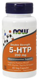 NOW 5-HTP 200 mg, 60 Vcaps