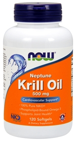 Now Krill Oil, 500 mg, 120 Softgels
