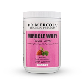 Dr. Mercola  Miracle Whey Strawberry  1 lb.