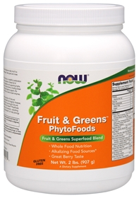NOW Fruit & Greens PhytoFoods, 2 lbs
