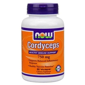 NOW Cordyceps 750 mg , 90 Vcaps