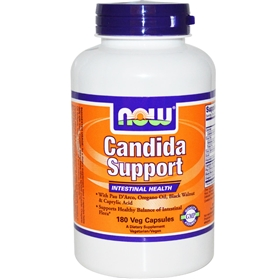 NOW Candida Support, 180 caps