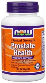 NOW Prostate Health, Clinical Strength, 90 softgels