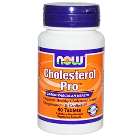 NOW Cholesterol Pro, 60 Tabs