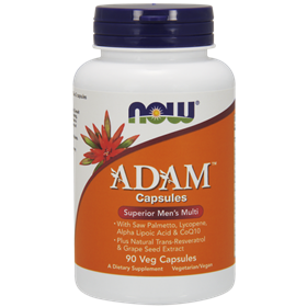 NOW ADAM Men's Multiple Vitamin, 90 caps