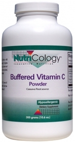 Nutricology  Buffered Vitamin C Cassava Source  10.6 oz