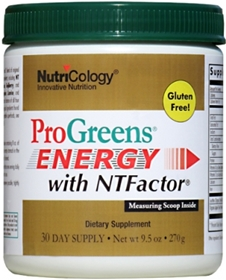 Nutricology  ProGreens® Energy with NTFactor®  9.5 oz