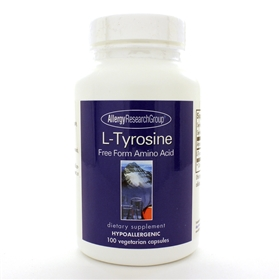 Allergy Research  L-Tyrosine 500mg  100 Caps