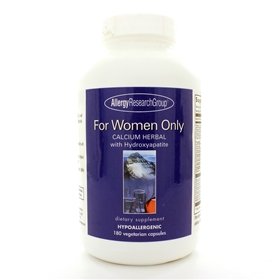 Allergy Research  For Women Only  180 Caps
