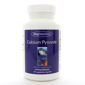 Allergy Research  Calcium Pyruvate  90 Caps