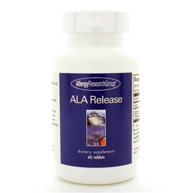 Allergy Research  ALA Release (Sustained-Released Lipoic Complex)  60 Tabs