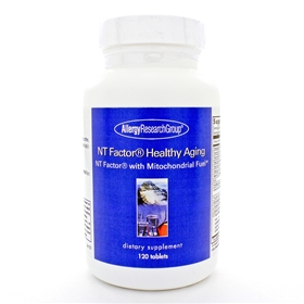 Allergy Research  NT Factors Healthy Aging  120 Tabs