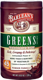 Barleans Chocolate Silk Greens, 9.52 oz