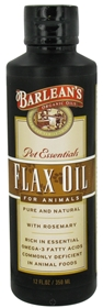 Barleans Flaxseed Oil for Animals, 12oz
