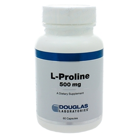 Douglas Labs  L-Proline 500mg  60 Caps