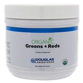 Douglas Labs  Organic Greens and Reds Powder  240 Grams