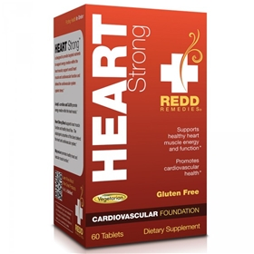 Redd Remedies Heart Strong, 60 tabs