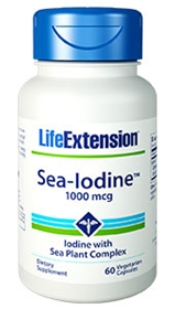 Life Extension Sea-Iodine, 1000 mcg, 60 Vcaps