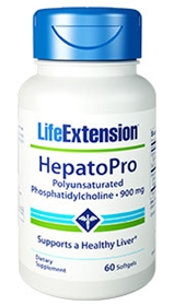 Life Extension HepatoPro (Polyunsaturated Phosphatidylcholine), 900mg, 60 softgels