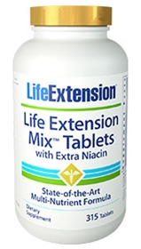 Life Extension Life Extension Mix Tabs with Extra Niacin, 315 tabs