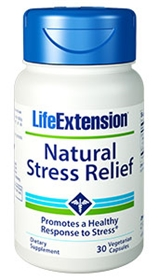 Life Extension Natural Stress Relief, 30 Vcaps