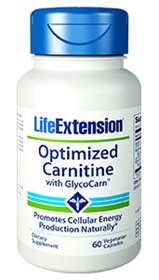 Life Extension Optimized Carnitine with GlycoCarn, 60 Vcaps
