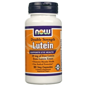 NOW Lutein Esters, 20 mg, 90 Vcaps