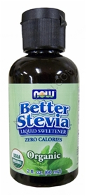 NOW Stevia Better Stevia Organic liquid Extract, 2 oz