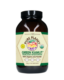 Pure Planet Green Kamut Powder, 90 servings