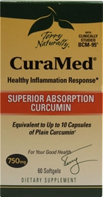EuroPharma Curamed, 750mg, 60 softgels