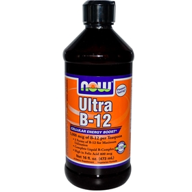 NOW Ultra B-12, 16 oz
