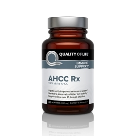 Quality of Life Labs AHCC Rx, 60 Softgels