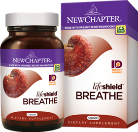 New Chapter  LifeShield Breathe  60 Vcaps