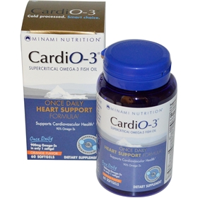 Garden of Life Minami Nutrition Cardio-3, 30 softgels