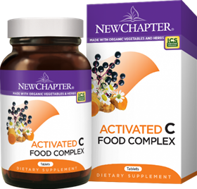 New Chapter  Activated C Food Complex  90 tabs