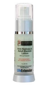 Life Extension Cosmesis Anti-Redness & Adult Blemish Lotion, 1oz