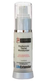 Life Extension Cosmesis Hyaluronic Facial Moisturizer, 1oz