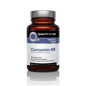 Quality of Life Labs Curcumin-SR, 125 mg, 30 Vcaps