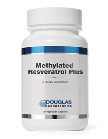 Douglas Labs  Methylated Resveratrol Plus  30 Caps