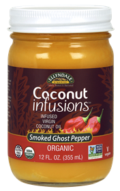 Now - 12 ounce - Coconut Infusions™ Smoked Ghost Pepper, Organic