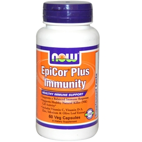 NOW EpiCor Plus Immunity, 60 Vcaps